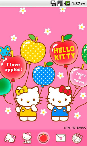Hello Kitty FruitBalloon Theme
