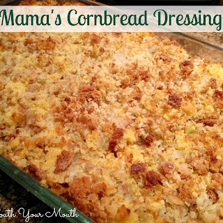 Mama's Cornbread Dressing