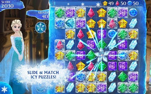 Android Frozen Free Fall Resimler