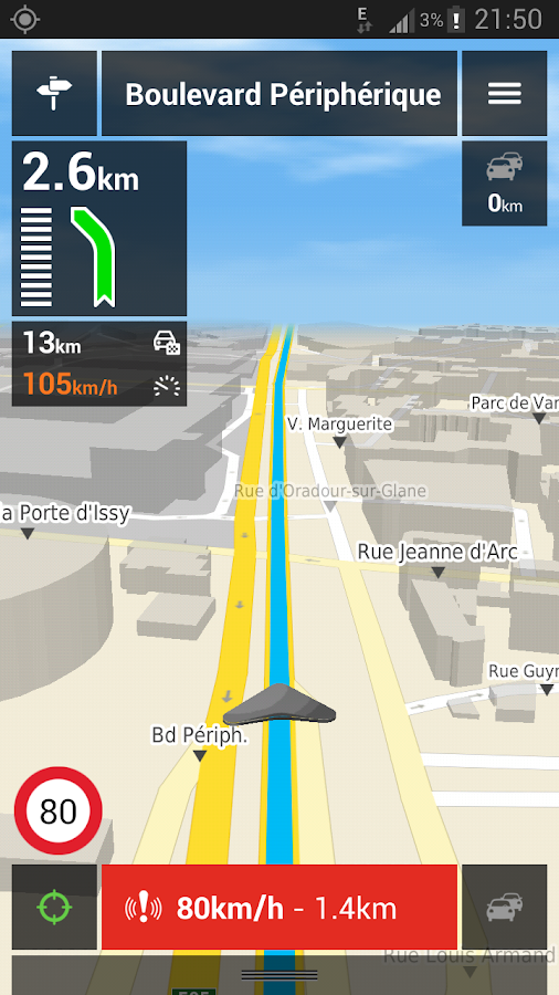 Mappy GPS Free - screenshot