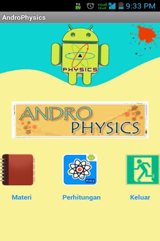 【免費教育App】AndroPhysics-APP點子