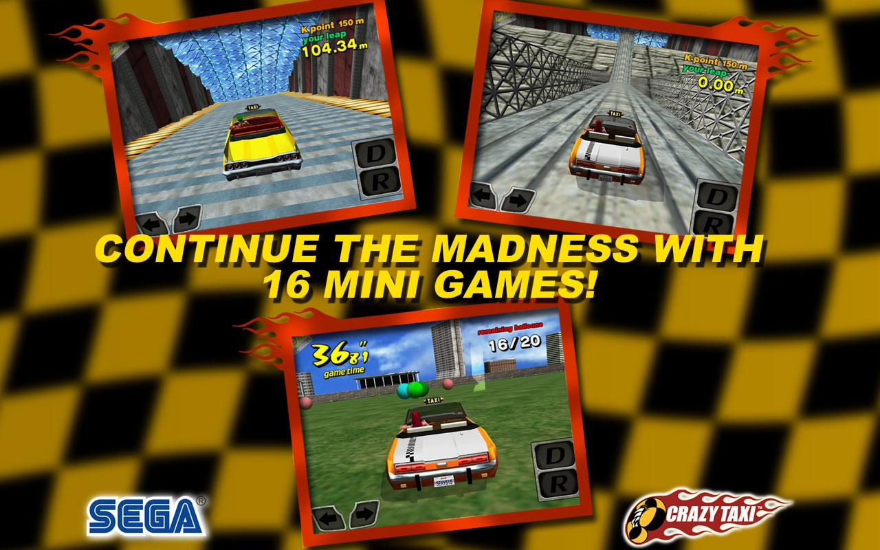 Crazy Taxi Lite(International) - screenshot