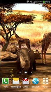 Africa 3D Pro Live Wallpaper - screenshot thumbnail