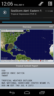 SeaStorm Hurricane Tracker - screenshot thumbnail