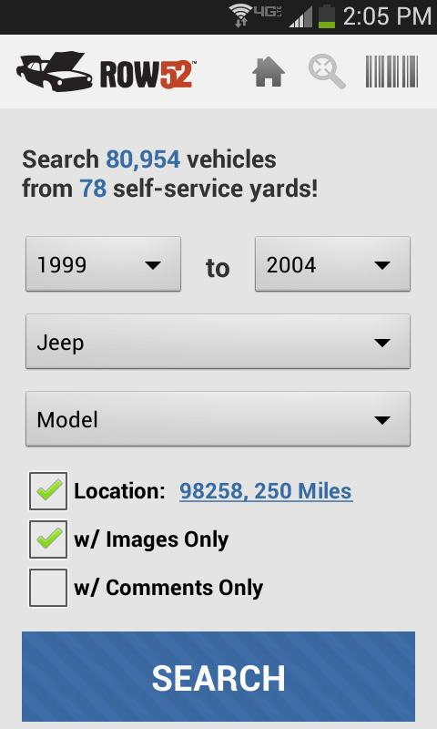 ROW52 Search Junkyards!- screenshot