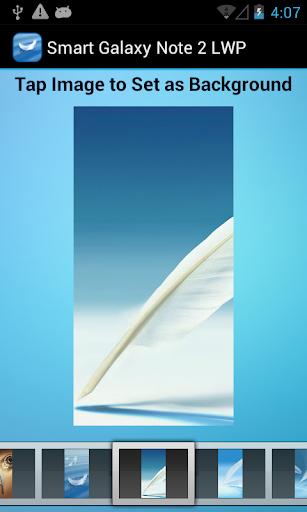 【免費程式庫與試用程式App】Galaxy Note 2 Smart LWP-APP點子