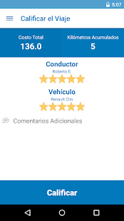 Safer - tu conductor en 1 clic: miniatura de captura de pantalla