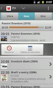 FDb.cz + Program kin a TV – miniatura snímku obrazovky