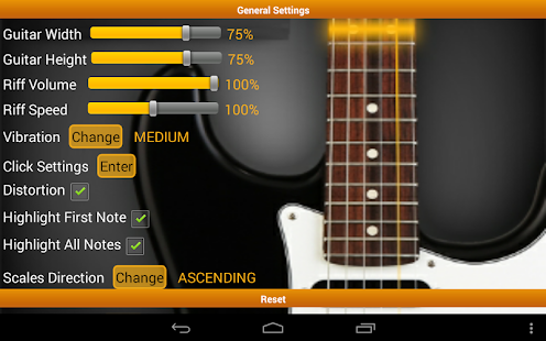 Guitar Scales & Chords Free - screenshot thumbnail