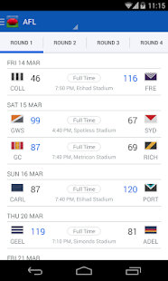 AFL - Footy Live - screenshot thumbnail