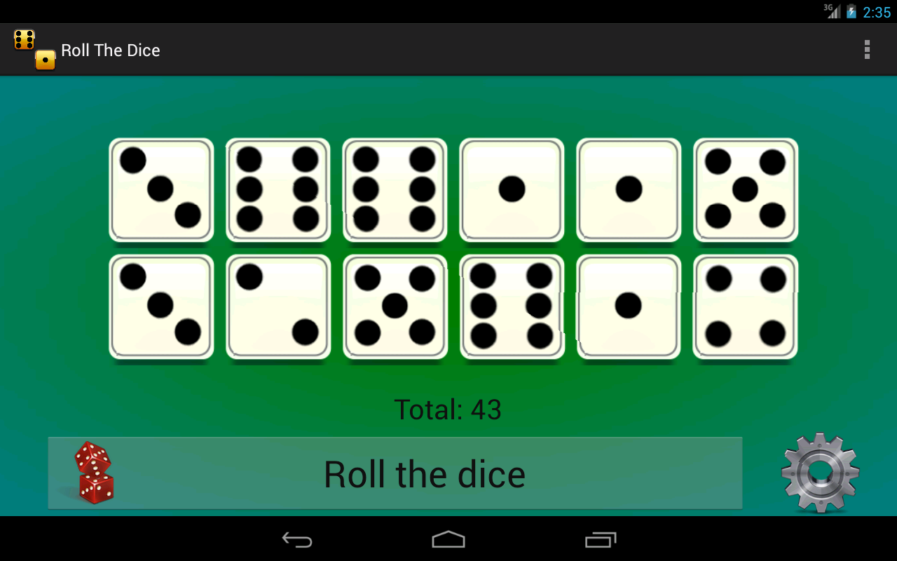 Simple Dice Roller- screenshot