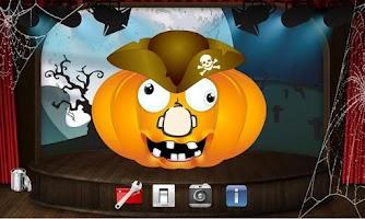Screenshot of Halloween Pumpkin Maker Game