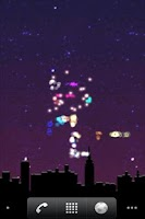 Screenshot of New Year's Favourite Lite LWP