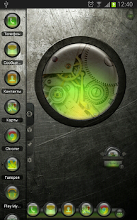 TSF Shell Theme EventGlassG HD - screenshot thumbnail