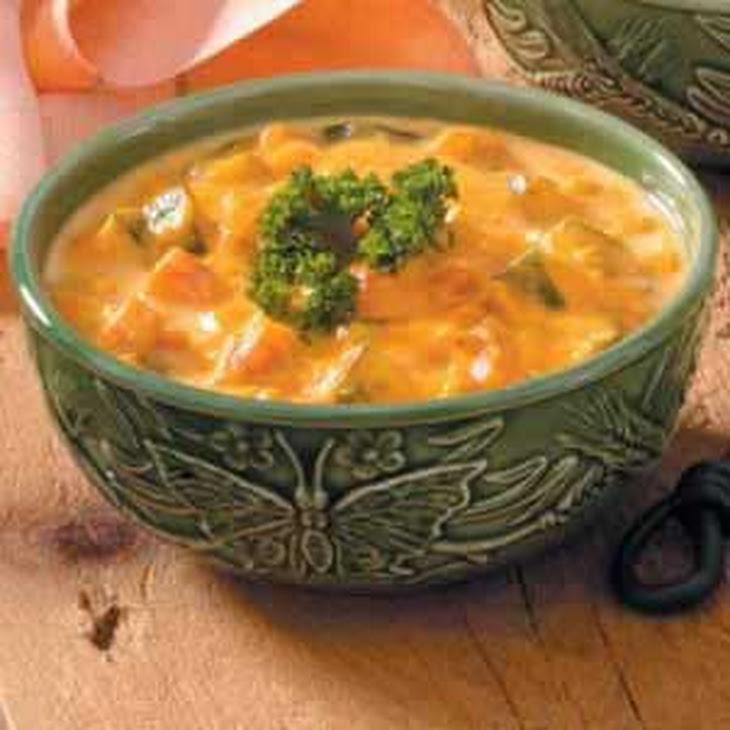 Carrot Zucchini Soup Recipe