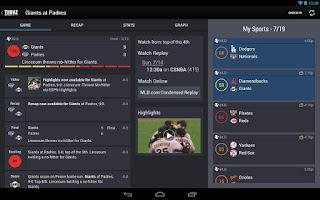 Screenshot of Thuuz Sports