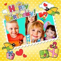 Screenshot of Animated Birthday Frames