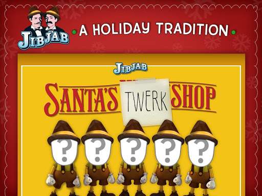 【免費娛樂App】Santa's Twerk Shop by JibJab®-APP點子