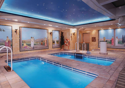 Norwegian-Spirit-Aquaswim - When you want to do more than play in a pool, get a workout and swim against the current in the Aquaswim pools on deck 12 of Norwegian Spirit.