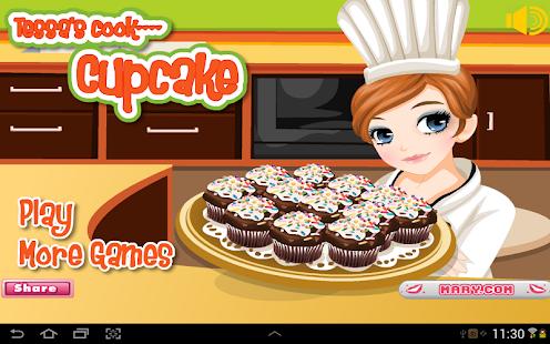 Tessa's Cup Cakes - 烹饪游戏