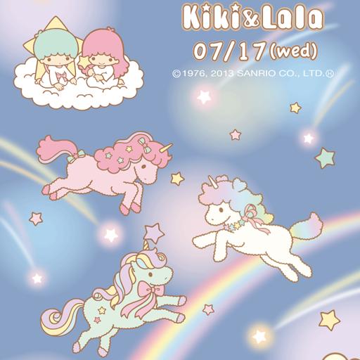 [キキ&ララ]星空のユニコーンライブ壁紙 個人化 App LOGO-APP試玩