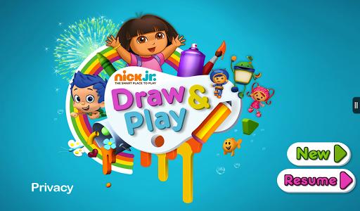 Nick Jr Draw Play
