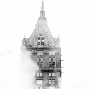 In The Fog by VAM Photography - Buildings & Architecture Other Exteriors ( building, exterior, fog, new york, architecture, , Urban, City, Lifestyle )