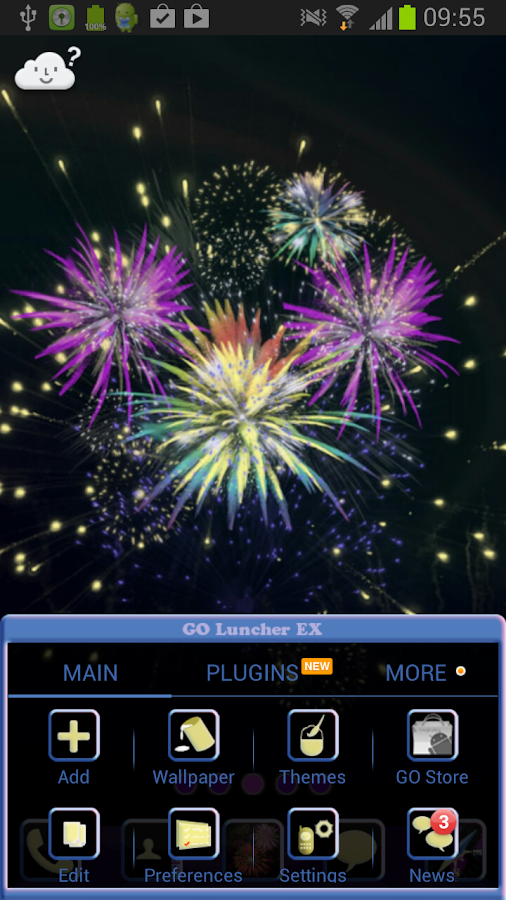 New Years Eve for GO Launcher- screenshot