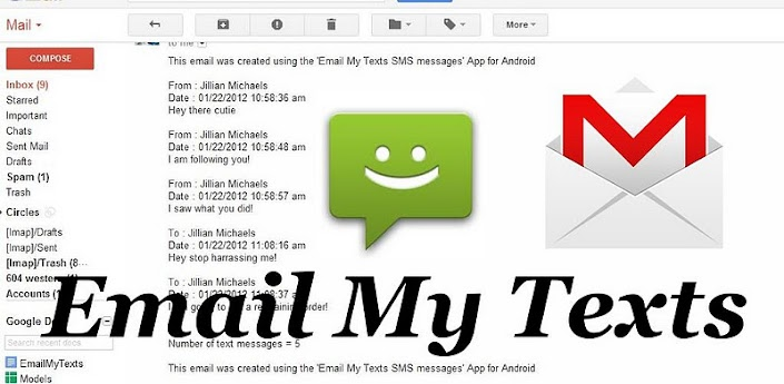 Email My Texts SMS apk