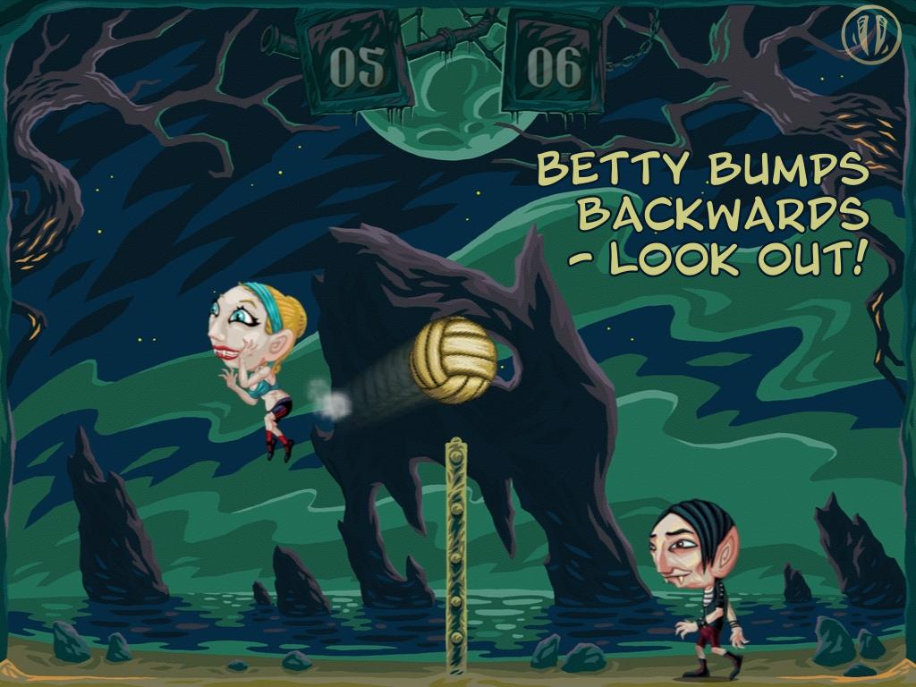 Vampire Volleyball - screenshot