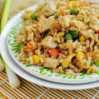 Easy Chicken Fried Rice.