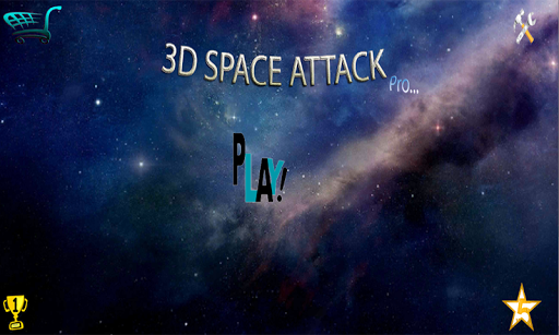 3D Space Attack Pro