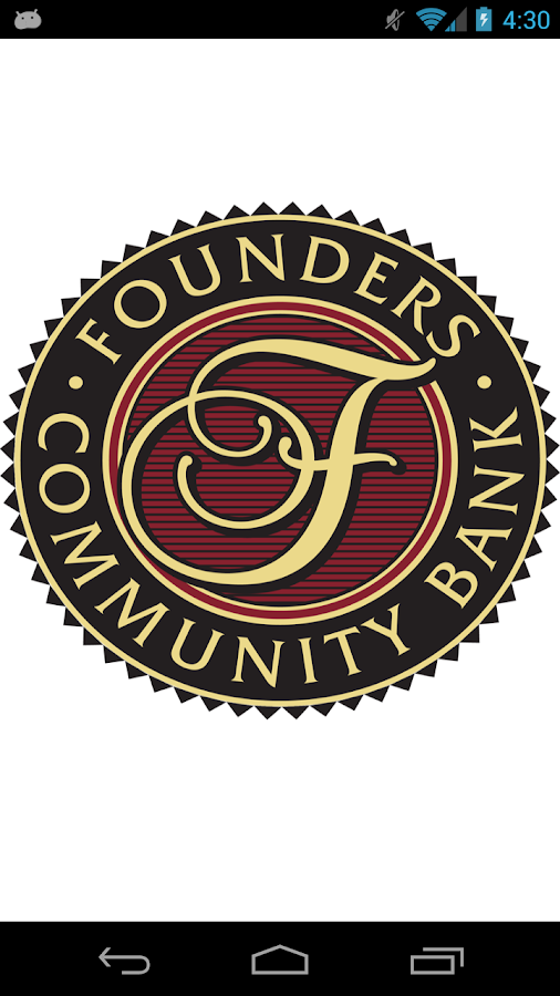 Founders Community Bank- screenshot