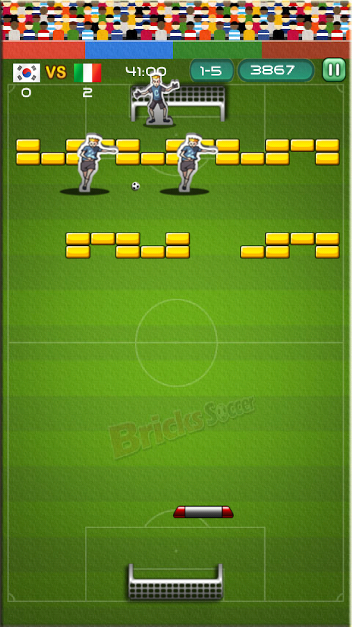 BRICKS SOCCER- screenshot