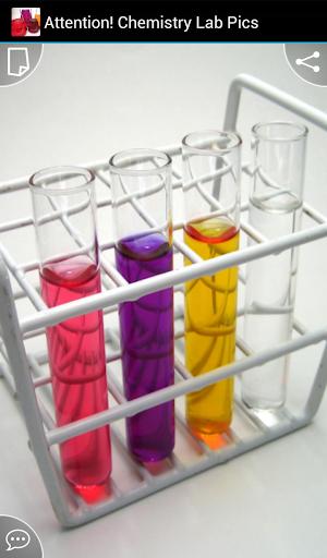 Attention Chemistry Lab Pics
