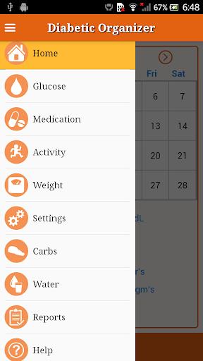 Diabetic Organizer