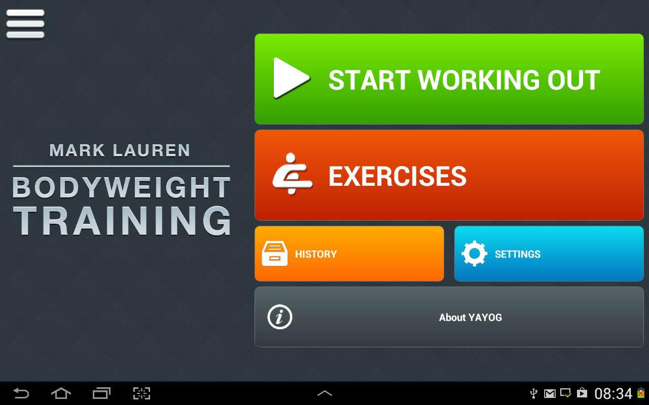 You Are Your Own Gym – Screenshot