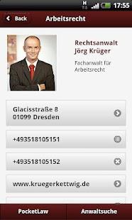 Arbeitsrecht- screenshot thumbnail
