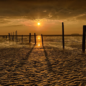 Somerset Beach by Ryan Bedingfield - Landscapes Beaches