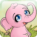 Autumn Baby Elephant Free icon