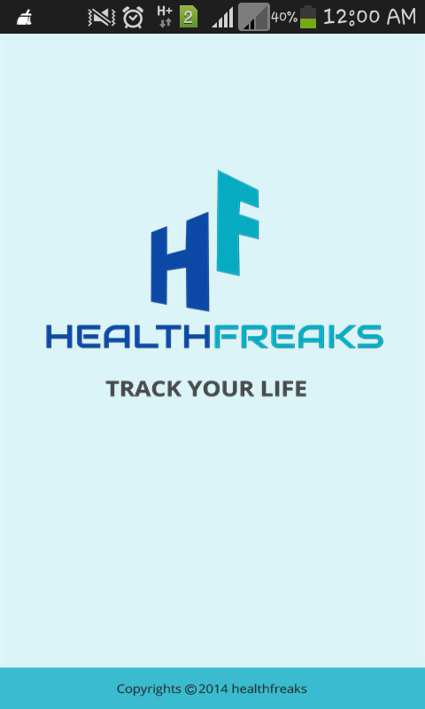 HealthFreaks- screenshot