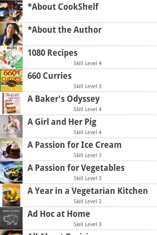 Cookbook Finder - screenshot