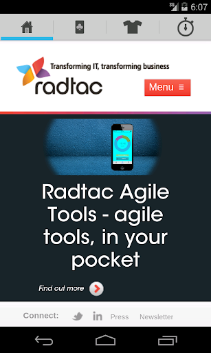 Radtac Agile Tools