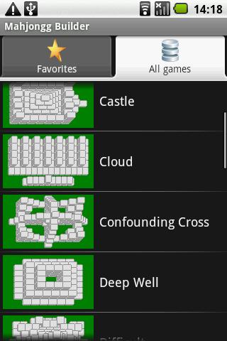 Mahjongg Builder - screenshot