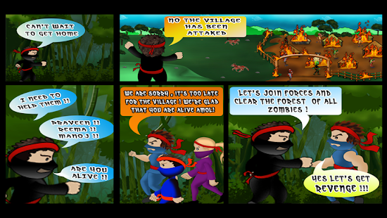 Ninja against Zombies II - screenshot thumbnail