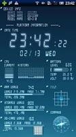 Screenshot of Device Info Live WallPaper