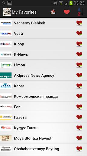 吉尔吉斯斯坦报纸和新闻