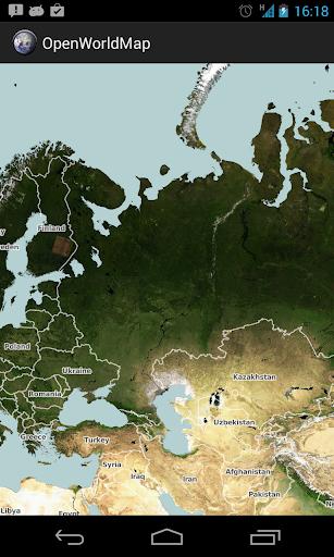 Open World Map