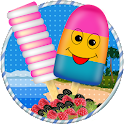 Tasty Fruity Ice Candy Maker icon