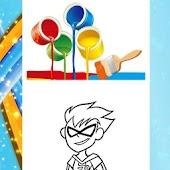 Coloring Book Titans